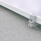 Schuin dak met geïsoleerd bitumen
