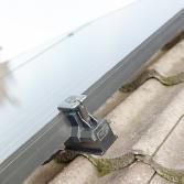 Schuin dak met dakpannen